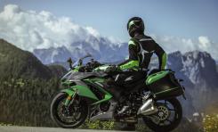 Kawasaki Kembangkan Sistem Keamanan Paling Canggih di Sepeda Motor