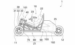 Tiru Polaris, Diam-diam Kawasaki Siap Produksi Mobil Roda Tiga