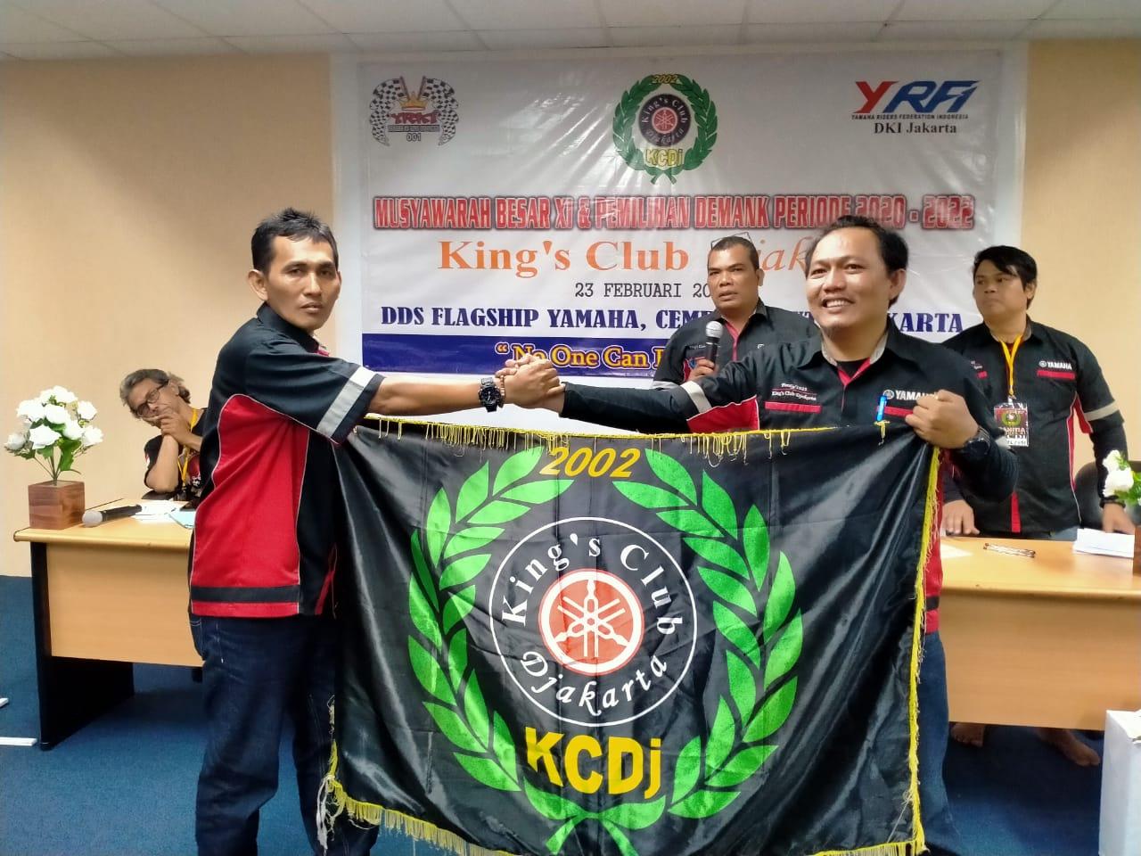 Mubes King's Club Djakarta (KCDj) 2020 Dihadiri Presiden Yamaha RX-King Indonesia (YRKI)