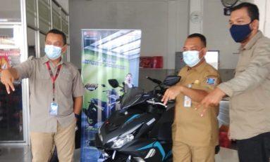 PNS Ini Jadi Pemilik Pertama All New Aerox 155 Connected di Bangka Belitung