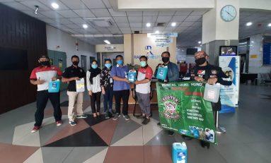Komunitas Suzuki Thunder (Koster) Indonesia Bagikan APD ke 5 Rumah Sakit