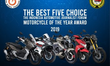 5 Nominasi Motor Terbaik Forwot Motorcycle of the Year 2019