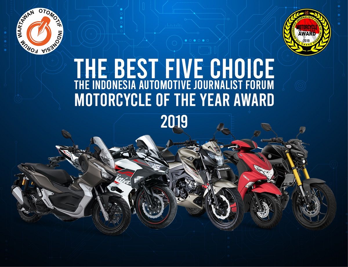 5 Nominasi Motor Terbaik Forwot Motorcycle of the Year 2019