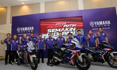 Yamaha Racing Indonesia Luncurkan Tim Balap Bareng Rossi dan Vinales