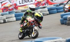 Megah Khenanda Auregha Target Podium di LENKA MiniGP Cup Prix Jogja