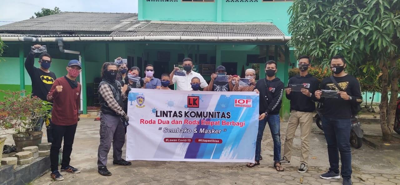 Lintas Komunitas Otomotif Tanjungpinang Gelar Baksos Bersama