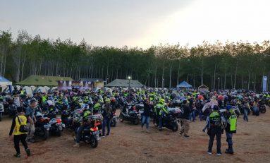 Tumpah Ruah Bikers di MAXI Yamaha Day 2019 Kalsel