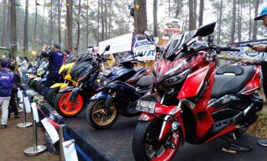 Digeruduk Ratusan Bikers, MAXI Yamaha Day Hebohkan Bandung
