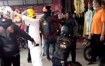 Komunitas Moge Harley-Davidson Aniaya Prajurit TNI Saat Turing