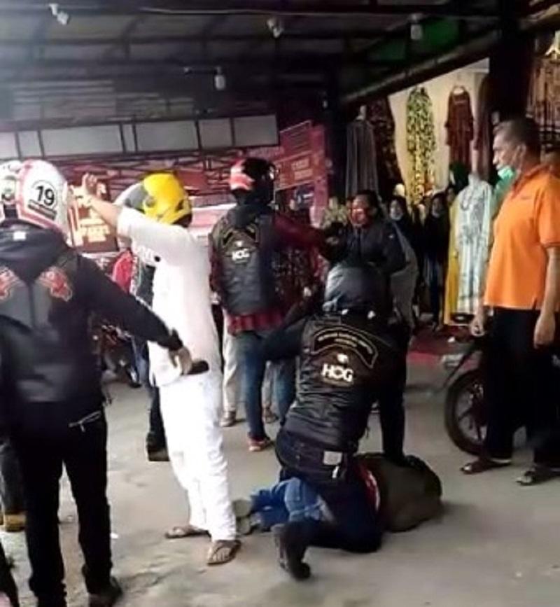 Komunitas Moge Harley-Davidson Diduga Aniaya Prajurit TNI Saat Turing