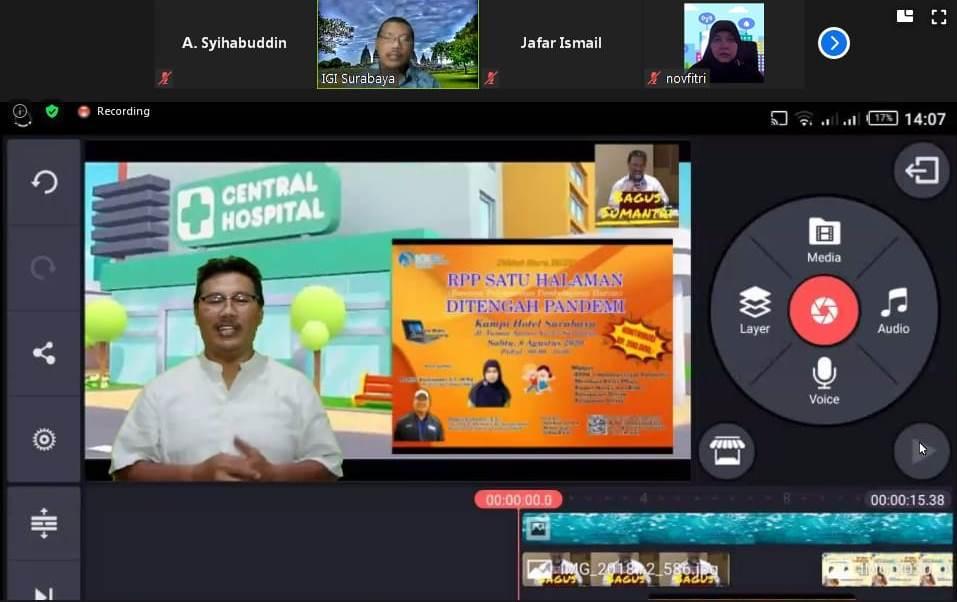 MPM Ajak 1000 Guru Ikuti Kelas Online Pembuatan Video