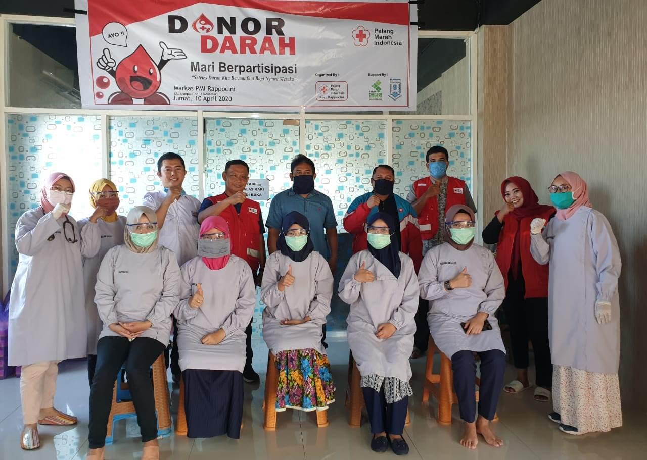 Absen Touring, Bikers Makassar Mater Club (M2C) Alih Profesi Jadi Relawan