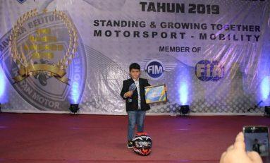 Raih IMI Babel Awards 2019, Jadi Motivasi Baru Megah di LENKA MiniGP Cup Prix 2020