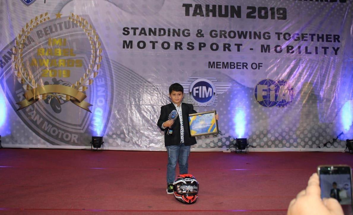 Raih IMI Babel Awards 2019, Jadi Motovasi Baru Megah di LENKA MiniGP Cup Prix 2020