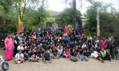 Gathering Motor Mini Jogja yang ke-2 Diserbu Ratusan Bikers