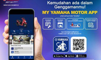 Manjakan Bikers, Yamaha Indonesia Luncurkan My Yamaha Motor App