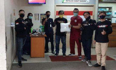 Nusantara Max Series (NMS) Bandung Donasi APD Untuk Petugas Medis