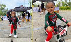 Pedro Wuner Dorong Keponakan Jadi Pebalap Motor Lewat Push Bike