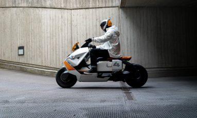 BMW Motorrad Definition CE 04 Menuju Versi Nyata
