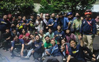 Halal Bi Halal Komunitas PCX Jakbar Dihadiri Ratusan Bikers