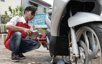 Pertamina Lubricants Berikan Ganti Oli Motor Gratis Untuk Korban Banjir