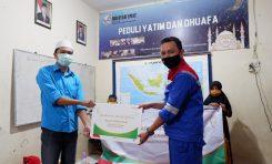 Pabrik Pelumas Pertamina Lubricants Distribusikan Bantuan ke Panti Asuhan