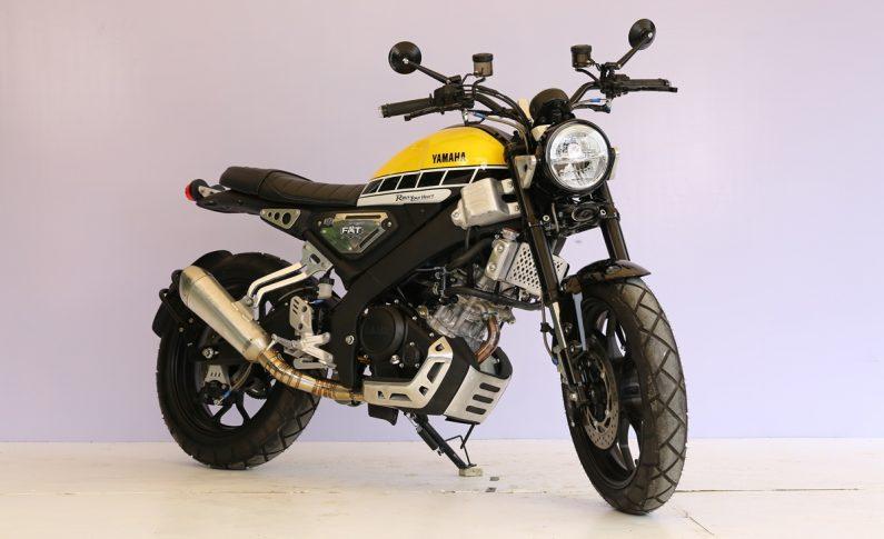 Modifikasi All New XSR 155 Yamaha 60th Anniversary