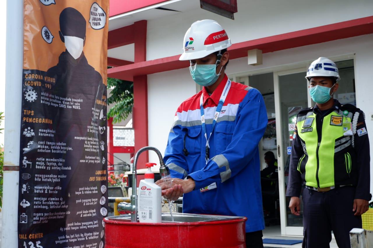 Cegah Penyebaran Covid-19, Pertamina Lubricants Sterilisasi Fasilitas Kantor dan Pabrik