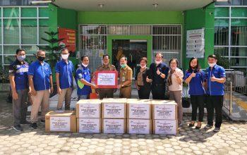 Yamaha Jambi Donasikan Ribuan Paket Sembako dan APD