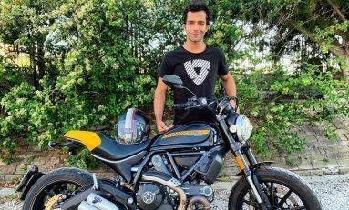 Lupakan Desmosedici, Petrucci Enjoy Bersama Ducati Scrambler Full Throttle