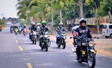 Sunmori Bikers Suzuki Banten Menyisir Pantai Barat Pulau Jawa