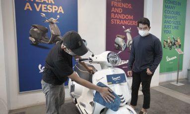 Sambut New Normal, Dealer Resmi Piaggio - Vespa Indonesia Terapkan Prosedur Kesehatan