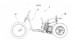 Bocoran Piaggio MP3 Anyar, Tiru Harley-Davidson?