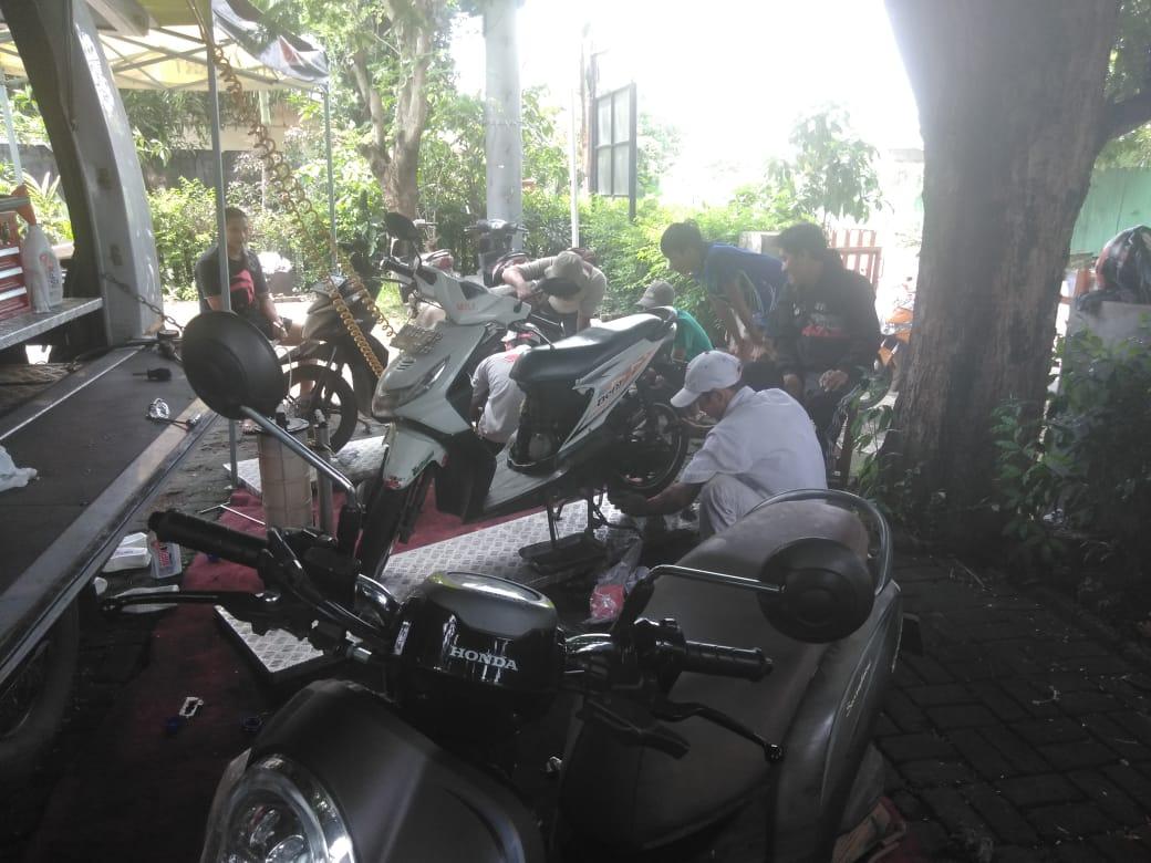 Wahana Honda Siagakan Bengkel AHASS Untuk Korban Banjir Jakarta dan Tangerang