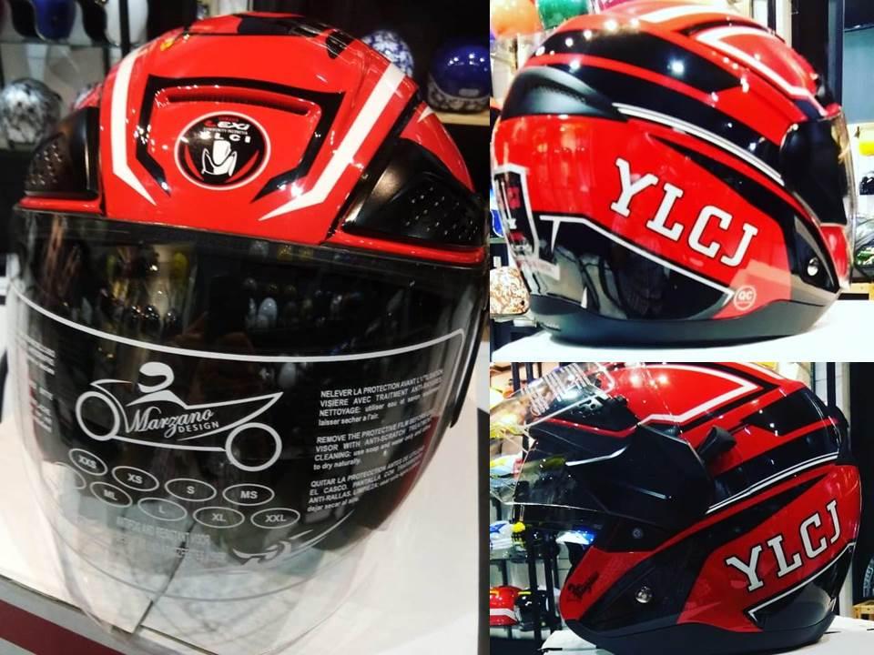 Komunitas YLCJ Tampil Kece dengan Helm Marzano