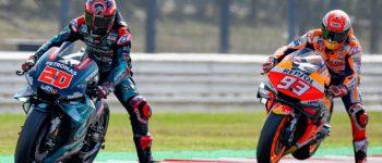 Meski Menang di Misano, Marquez Takut Dengan Potensi Quartararo