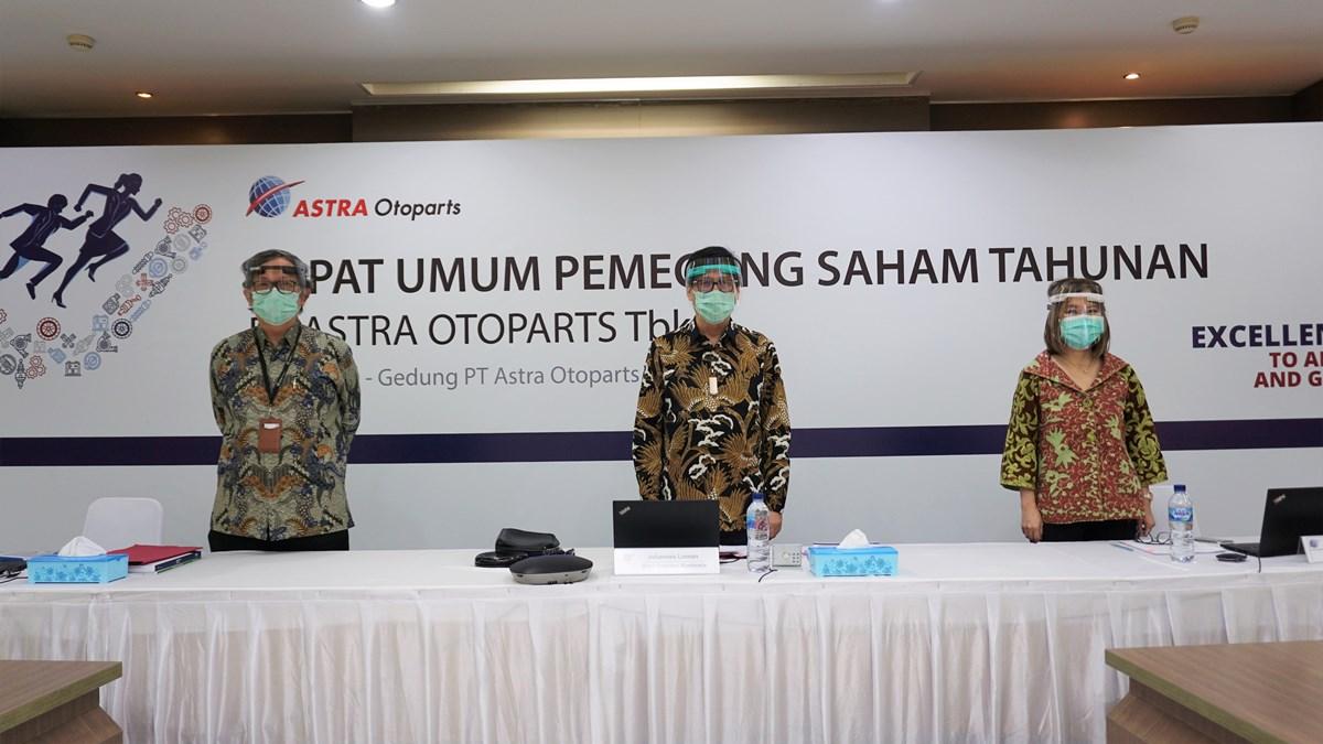 Astra Otoparts Bukukan Laba Bersih Rp739,7 Milyar