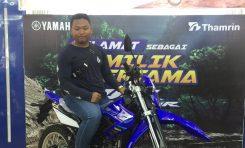 Raka Andrea, Bikers Sekaligus Pengusaha Pertama Pemilik Yamaha WR 155R