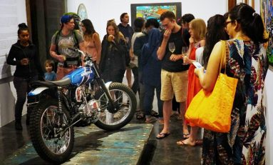 Mastom Solo Exhibition Riding With The Wind Vol.2 Sapa Pecinta Seni di Bali