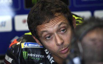 Andai Tak Jatuh, Rossi Mungkin Raih Kemenangan di MotoGP Catalunya