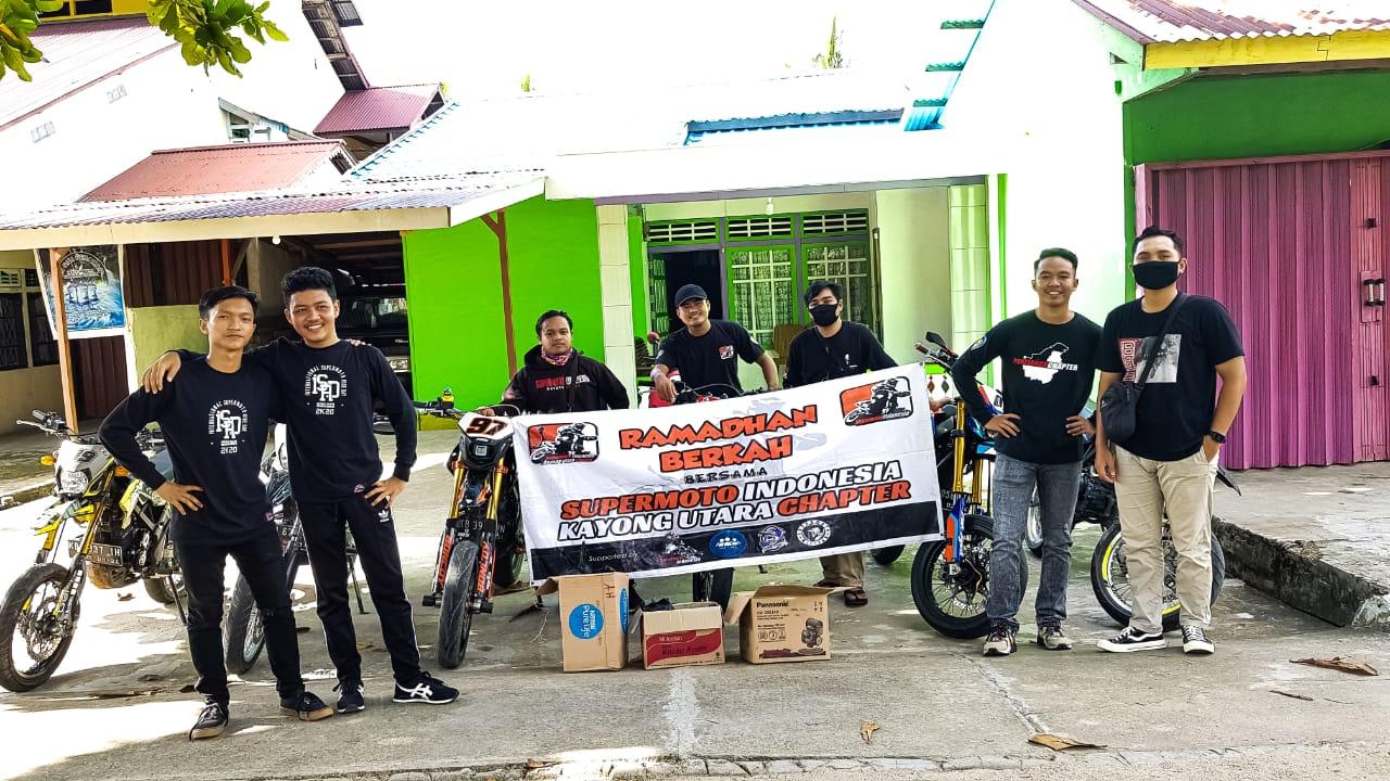Ramadhan Berkah Bersama Bikers Supermoto Indonesia (SMI) Kayong Utara