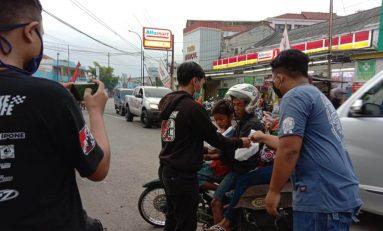 Komunitas Supermoto Indonesia (SMI) Kebumen Berbagi dan Perangi Covid-19