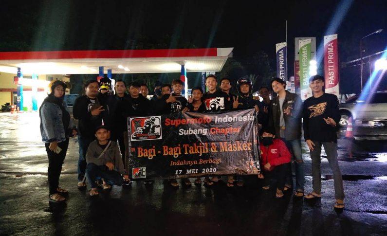 Menebar Kebaikan di Jalan Bareng Komunitas Supermoto Indonesia (SMI) Subang