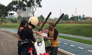 Komunitas Supermoto Indonesia (SMI) Tangerang Sambut Ramadhan dengan Baksos