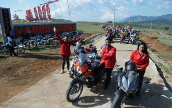 Coban Rondo Jadi Lokasi Penutup Suryanation Motorland Ridescape 2019