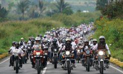 Ribuan Bikers Nikmati Motocamp Ala Suryanation Motorland di Pinggir Danau Toba