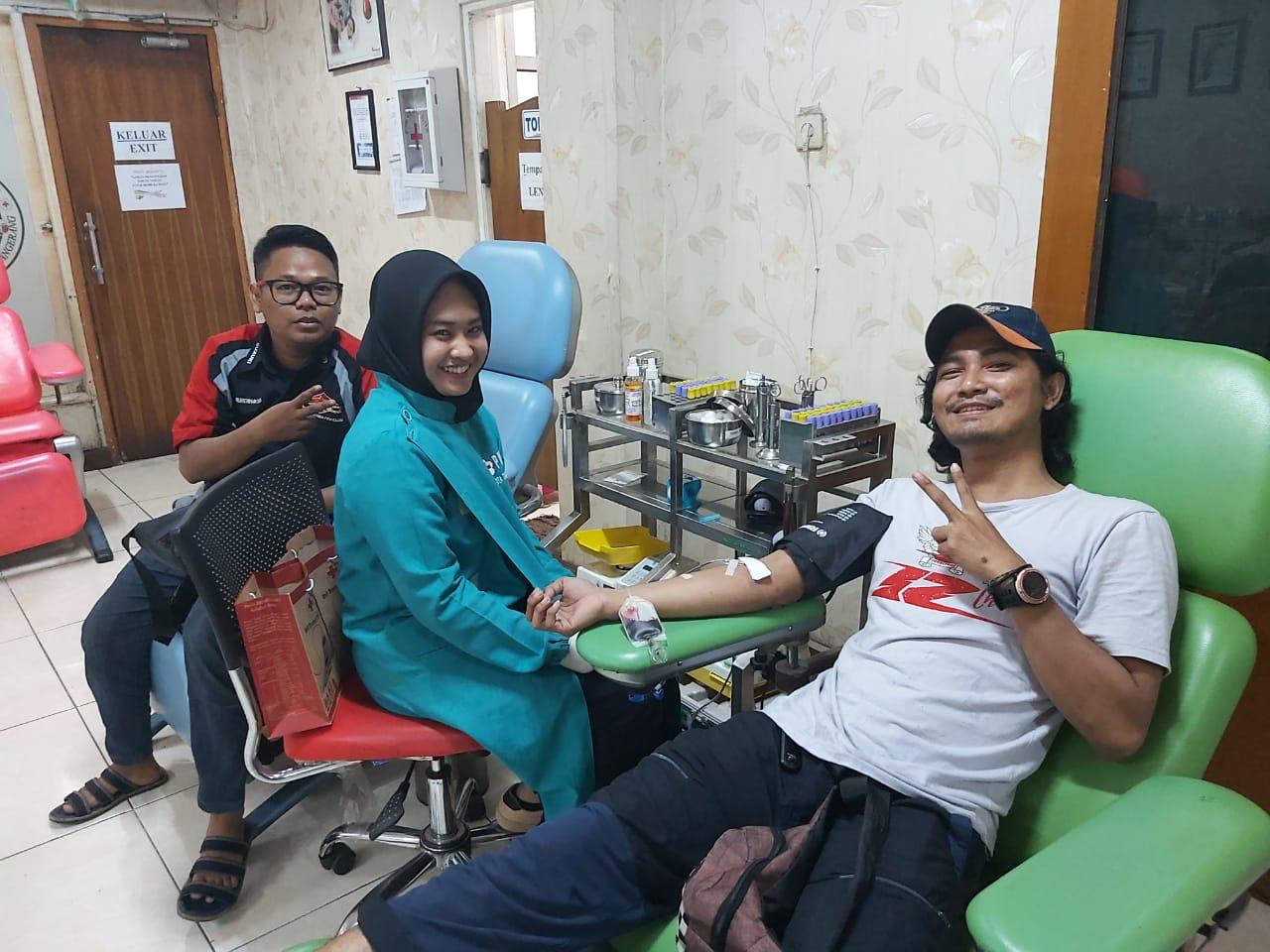 Bikers SSFC Tangerang Gelar Aksi Donor Darah