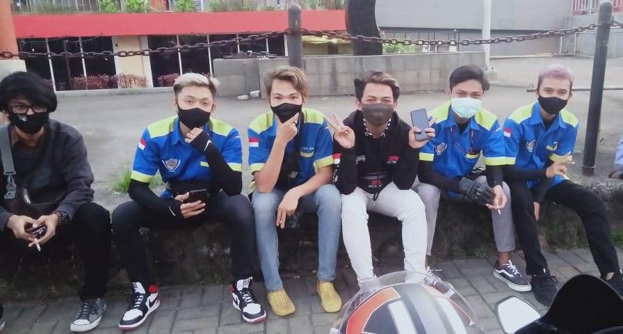 Sambut New Normal, Bikers SUGOI Bekasi Ajak Masyarakat Pakai Masker