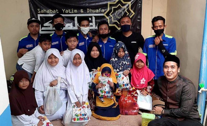 Suzuki GSX Owner Indonesia (SUGOI) Jakarta Gelar Baksos di Yayasan Syahdu