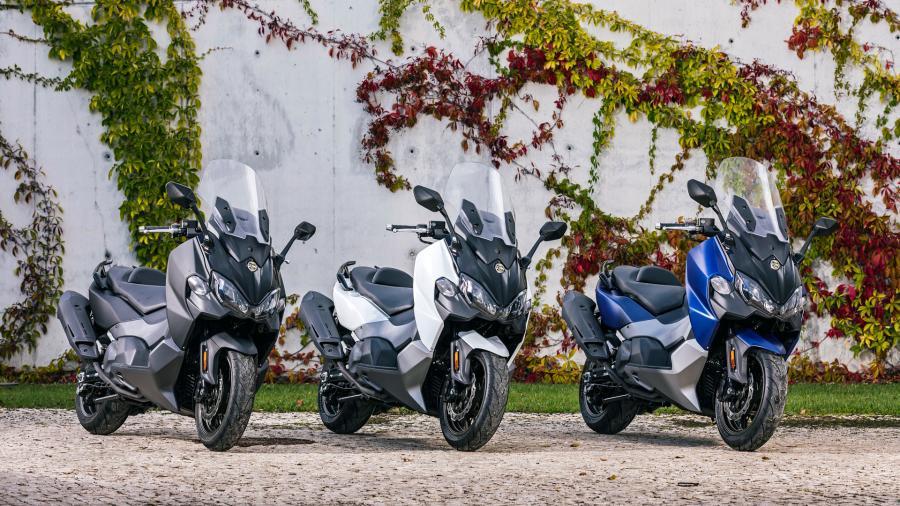 Sym Motors Luncurkan MakSym TL, Skuter Maxi Penantang Yamaha T-Max